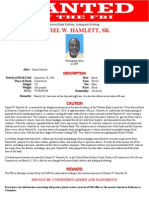 Seymour Bank Robbery Wanted Poster