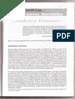 Palomero, F. (2003). Rupturas Estéticas - Nuevas Identidades. Estética, 7, 151-158