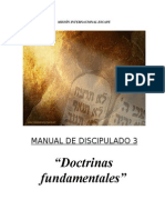 3 DOCTRINAS FUNDAMENTALES.