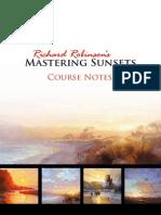 MasteringSunsets Notes