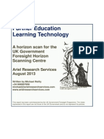 Further Education and Learning Technology - Final Draft