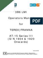 At-15 Series III 3B6 Operator Manual