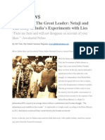 Vanquishing the Great Leader - The Mysteriy of Subhas Chandra Bose