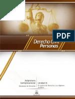 Unidad II. El Sujeto de Derecho y Su Régimen Jurídico (1)