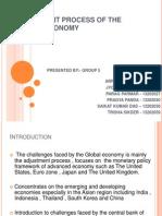 Adjustment Process of the Global Economy (1)