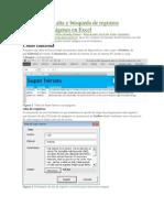 Formulario de Alta y Búsqueda de Registros Incluyendo Imágenes en Excel