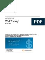 1120 Tax Return Walkthrough