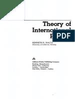 WALTZ, Kenneth. Theory of International Politics