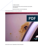 Reparación Chapa Con FIBRA de VIDRIO