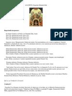 ACATISTUL Pogorârii Sfântului Duh