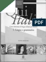 Qui Italia 1 - Lingua e Grammatica