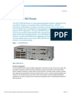 Cisco ASR 903 Series Aggregation Services Routers Datasheet