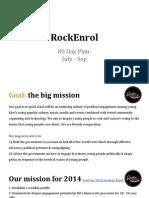RockEnrol- 80 Day Plan
