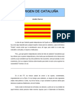 El Origen de Cataluna