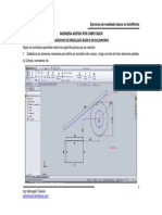 Ejercicios de Modelado Básico en SolidWorks