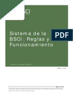 BCSI - Reglas y Funcionamiento