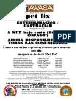 Spanish Pet Fix