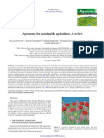 Agronomy for Sustainable Agriculture