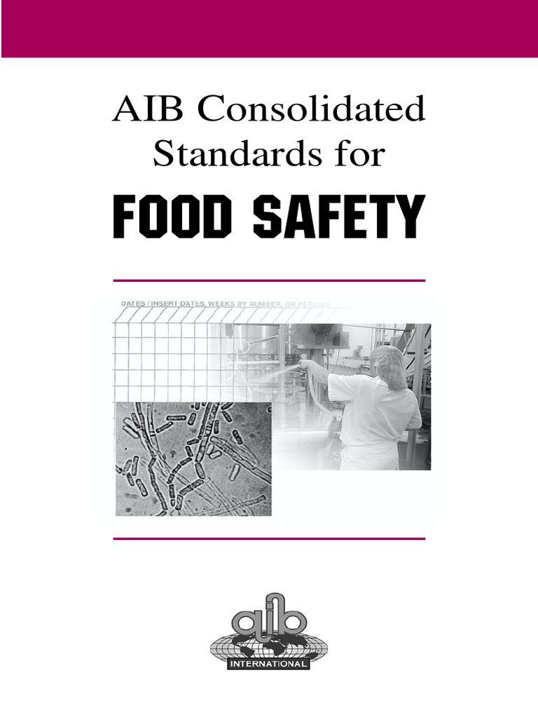 Aib standards food safety food safety hazard analysis and aib standards food safety food safety hazard analysis and critical control points xflitez Choice Image