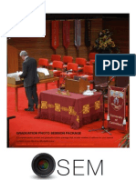 Catalogue for Photosem Graduation Package