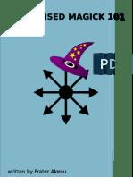Condensed Magick 101