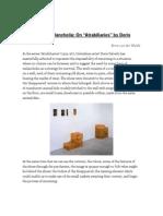 On _Atrabiliarios_ by Doris Salcedo - Von Der Walde