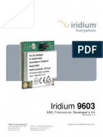 Iridium 9603 Developer's Kit v1.0