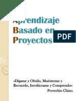 Aprendizaje Basado en Proyectos. 2