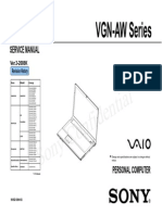 VGN AW1 Sevice Manual