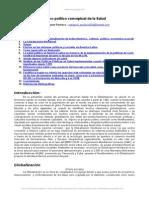 Marco Politico Conceptual Salud 2