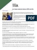 Balancing GPA and life