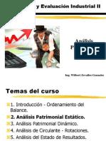 Clase 3 - Análisis Patrimonial Estático