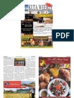 "Kuta Weekly-Edition 397 ""Bali""s Premier Weekly Newspaper"""