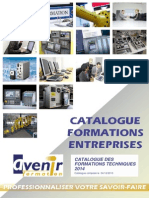 Catalogue Formations Entreprises 2014