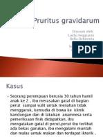 Pruritus Gravidarum
