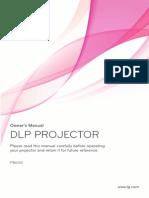 Projector Manual 7238