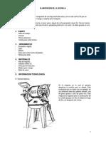 Elaboracion de La Cuchilla de Corte Para Marroquineria