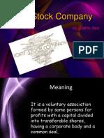 Joint Stock Company