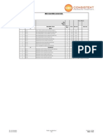 MEP Drawing List
