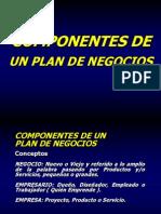 Componentes de Plan de Negocio Limatre