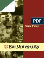 Public Policy