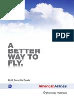 American Airlines Platimum Member Guide