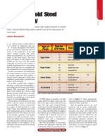 Ensuring Mold Steel Polishability