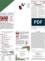 12-01-2009 Newsletter