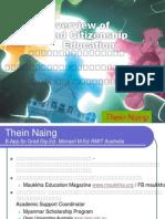 Civic and Citizenship education Myanmar/Burma
