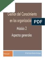 gestionconocimientoorganizaciones-101203131025-phpapp01