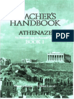 Athenaze Teacher's Handbook 1