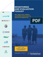 Monitoring Evaluation Toolkit
