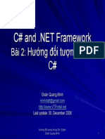 C# and .NET - Lession 2