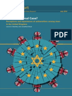 Perceptions and Experiences of Antisemitism Among Jews in UK